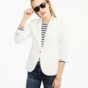 J. Crew Unstructured blazer in cotton-linen 8